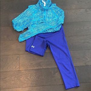 Underarmour shirt and Capri set
